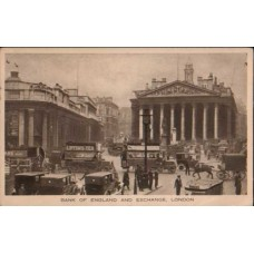 1934 GREAT BRITAIN Bank of England Postcard
