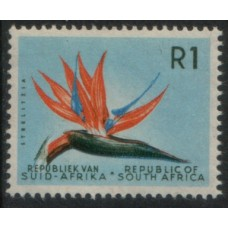 1961 SOUTH AFRICA R1 Strelitzia MNH