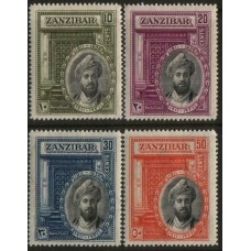 1936 ZANZIBAR Sultan's Silver Jubilee LMM