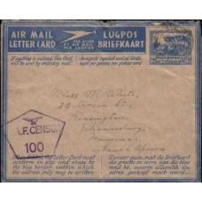 1945 SA AERO 3d Eng. MAL Card FU