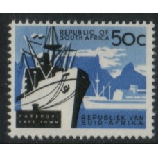 1961 SOUTH AFRICA Cape Town Harbour MNH