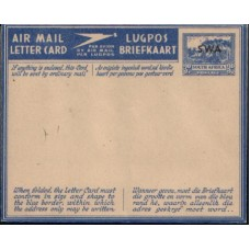 1946 SOUTH WEST AFRICA 3d AEROGR no stops MNH