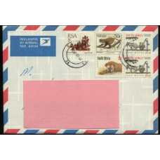 2008 SOUTH AFRICA Cover7 with scarce franking