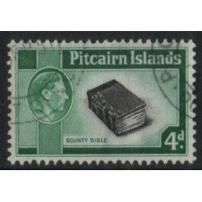 1951 PITCAIRN Is KGVI 4d Bounty Bible superb U