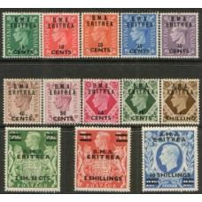 1948 Br.Occ. ITALIAN Col. KGVI BMA Eritrea MNH