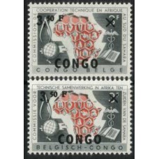1960 CONGO (Kinsh). COOP south of Sahara MNH