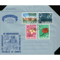 1965 ZAMBIA AERO 1st Y Indep. set Used