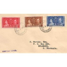 1937 BECHUANALAND Coronation FDC