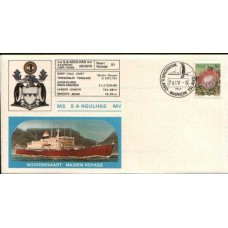 1978 SOUTH AFRICA - ms SA Agulhas Maiden Voyage