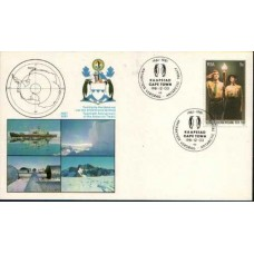 1981 SOUTH AFRICA 20Y Antarctic Treaty Card