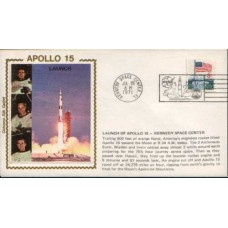 1971 US APOLLO Set of 5 Beautiful Silk covers (5)