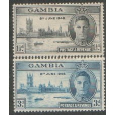 1946 GAMBIA Peace issue LMM