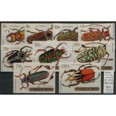 1970 BURUNDI Beetles Airmail set MINT