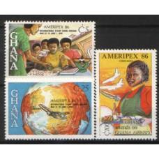 1985 GHANA Ameripex MNH