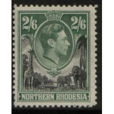 1938 NORTHERN RHODESIA KGVI 2s6d MNH
