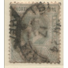 1912 NORTHERN NIGERIA KGV 2d grey GU