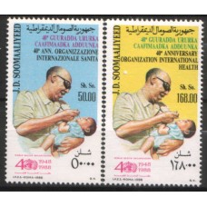 1988 SOMALIA WHO set MNH