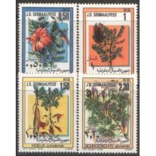 1978 SOMALIA Blossoms MNH