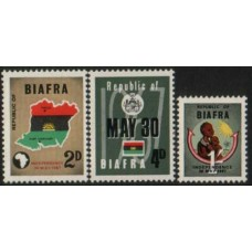 1968 BIAFRA (NIGERIA) Indep. set Mint