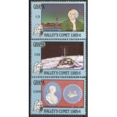 1987 GHANA Hallys Comet MNH