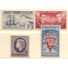 1957 ROSS DEPENDENCY First set LMM