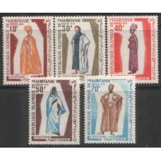 1970 MAURITANIA  National Costumes MNH
