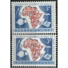 1960 RUANDA URUNDI Sub Sahara Coop MNH