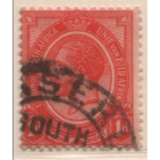 1926 BASUTOLAND KGV 1d of South Africa VFU