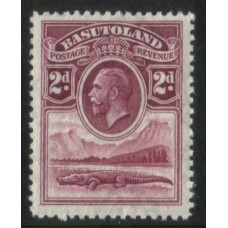 1933 BASUTOLAND KGV 2d value MNH