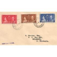 1937 BECHUNANALAND Coronation FDC