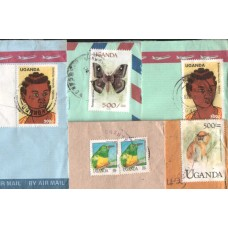 1999 UGANDA 5 complete  Commercial Covers