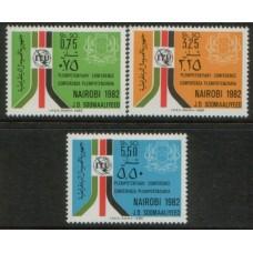 1982 SOMALIA I T U Summit MNH