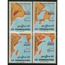 1987 SOMALIA Continental Drift MNH