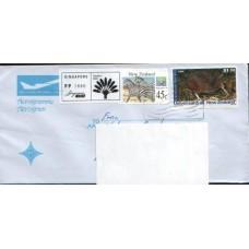 2010 NEW ZEALAND Remailed Aerogramme to Austria