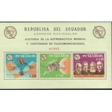 1966 ECUADOR 100Y UIT MS MINT