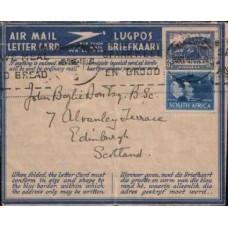 1945 SOUTH AFRICA AERO 3d plus 3d value VFU