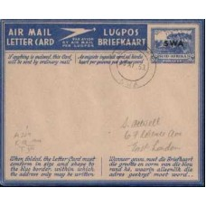 1946 SOUTH WEST AFRICA 3d AEROGR. VFU