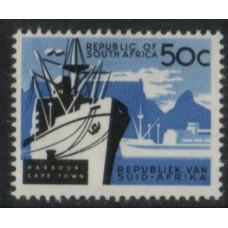 1961 SOUTH AFRICA  50 Harbour No wmk VFLMM