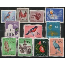 1961 SOUTH AFRICA Coat of Arms set to 20c MNH