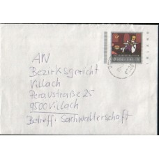 2001 AUSTRIA Inland Imprinted Cover