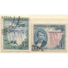 1955 RHODESIA & NYASALAND Victoria Falls VFU.