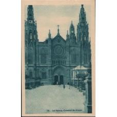 1950 LAS PALMAS Arucas Cathedral PC Mint