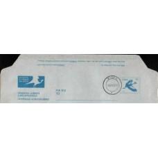 1981 CISKEI Aerogramme 15c Bird USED