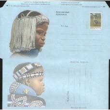 1997 SOUTH AFRICA Aerogramme Headdress 10.03.97 issue MINT