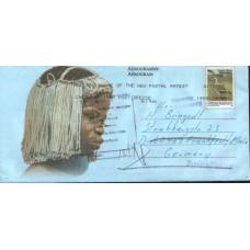 1999 SOUTH AFRICA RTS Bead Headdress2 Aerogramme Austria FU
