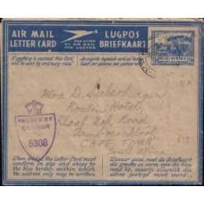 1945 SOUTH AFRICA AERO 3d ASLC Gr. Schuur VFU