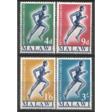 1970 MALAWI Commonwwalth Games set MNH.