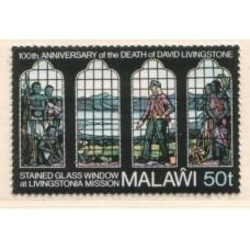 1973 MALAWI Livingstone 50t MNH.