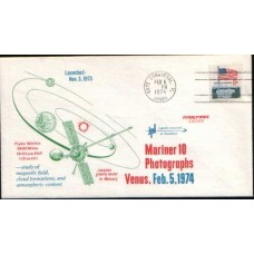 1974 US Mariner 10 Cover