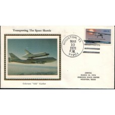 1978 US Space Shuttle Silk cover